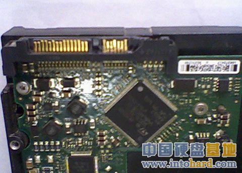希捷SATA硬盘数据线接口破坏维修图片