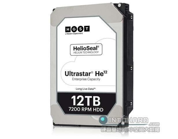 全球第一款12TB!西部数据HGST UltraStar He12硬盘正式出货